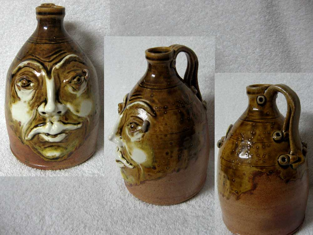Cindy Douglass Face Jug
